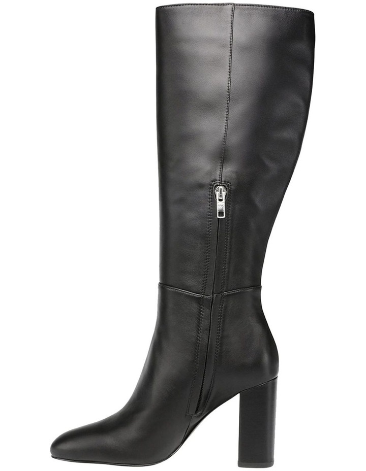 Ninny Black Leather Boot image 4