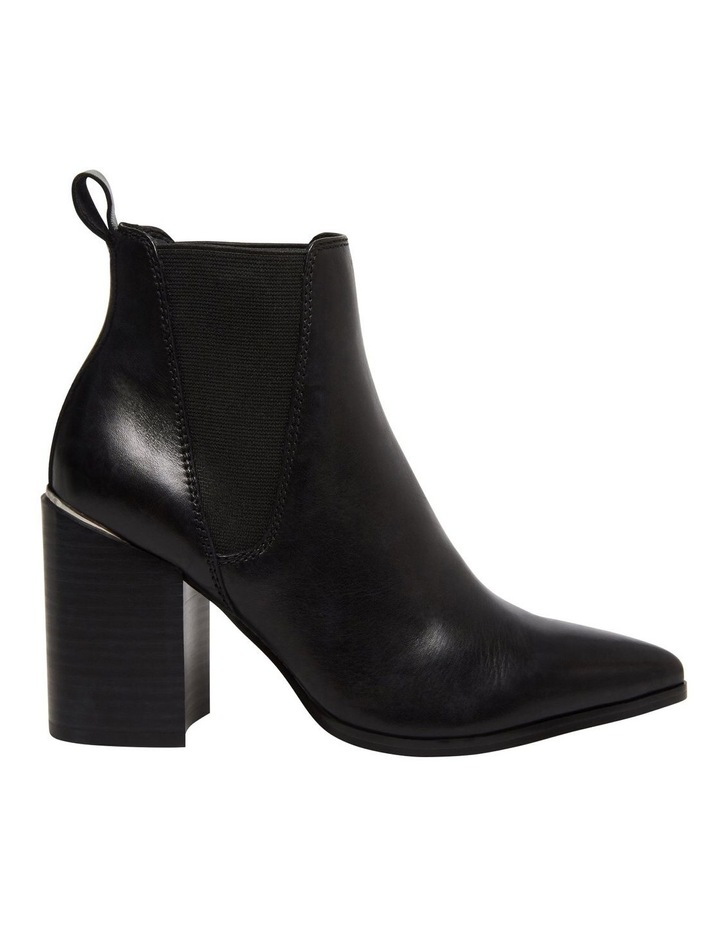 Knoxi Black Leather Boot image 1