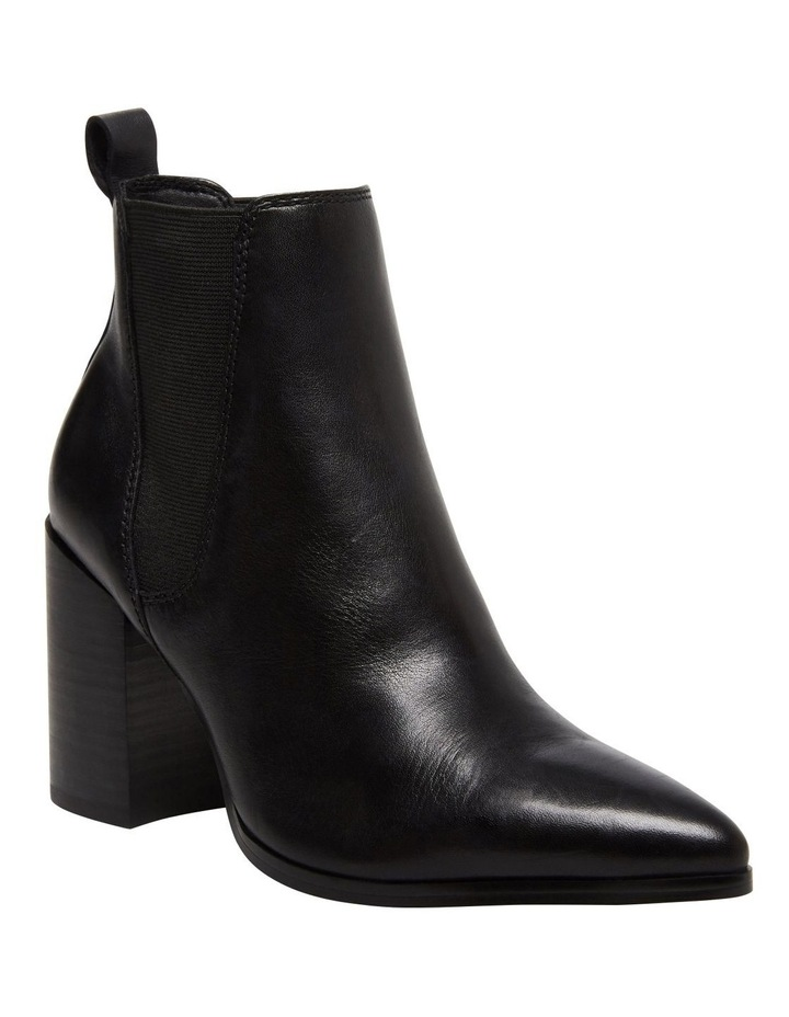 Knoxi Black Leather Boot image 2