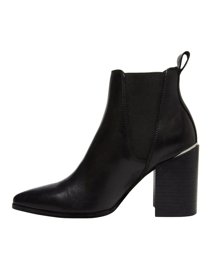 Knoxi Black Leather Boot image 3