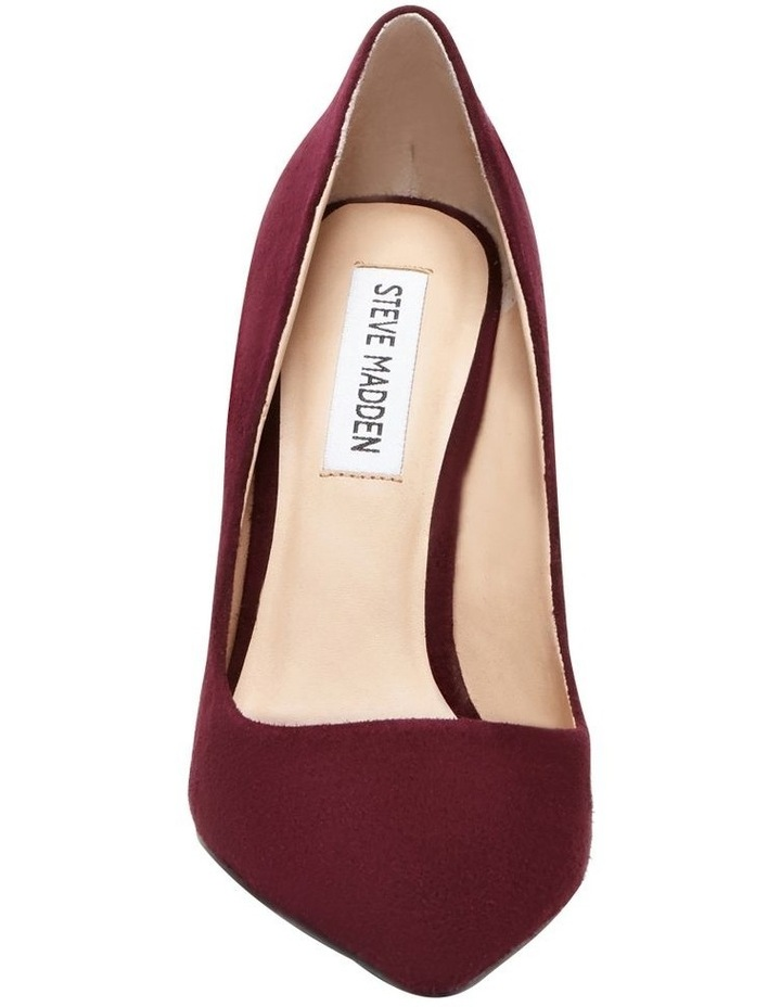 3d2b7a5f34c Steve Madden Daisie Burgundy Suede Heeled Shoes