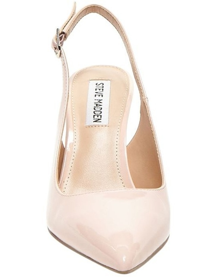 Macey Blush Patent Heeled Shoes image 2