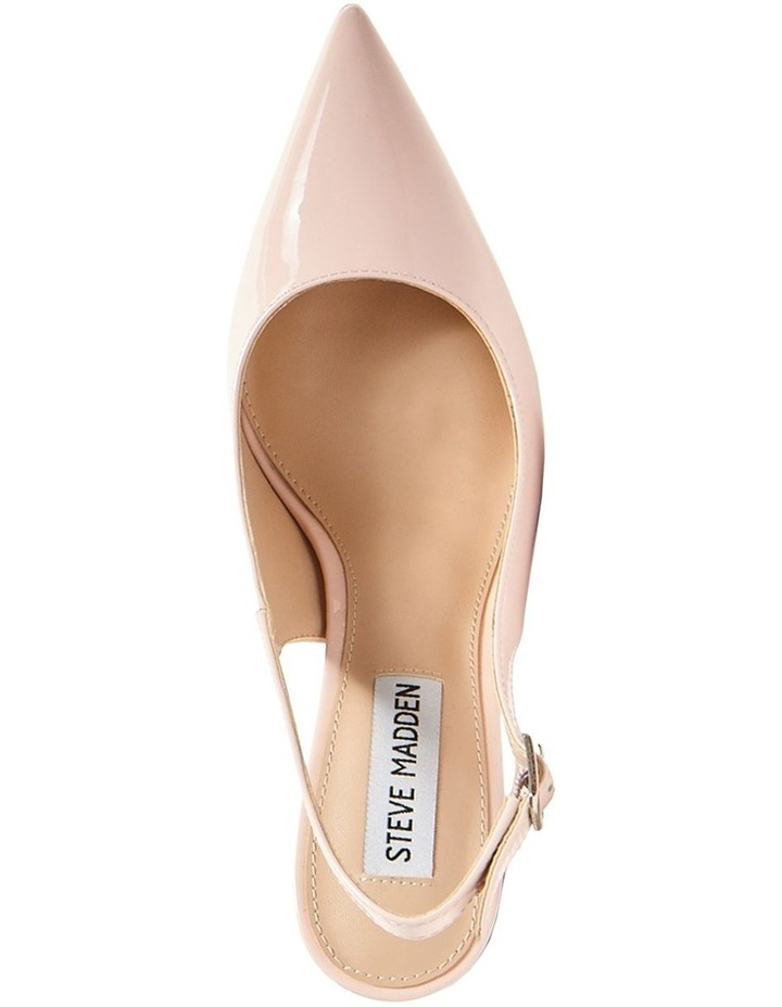 Macey Blush Patent Heeled Shoes image 3