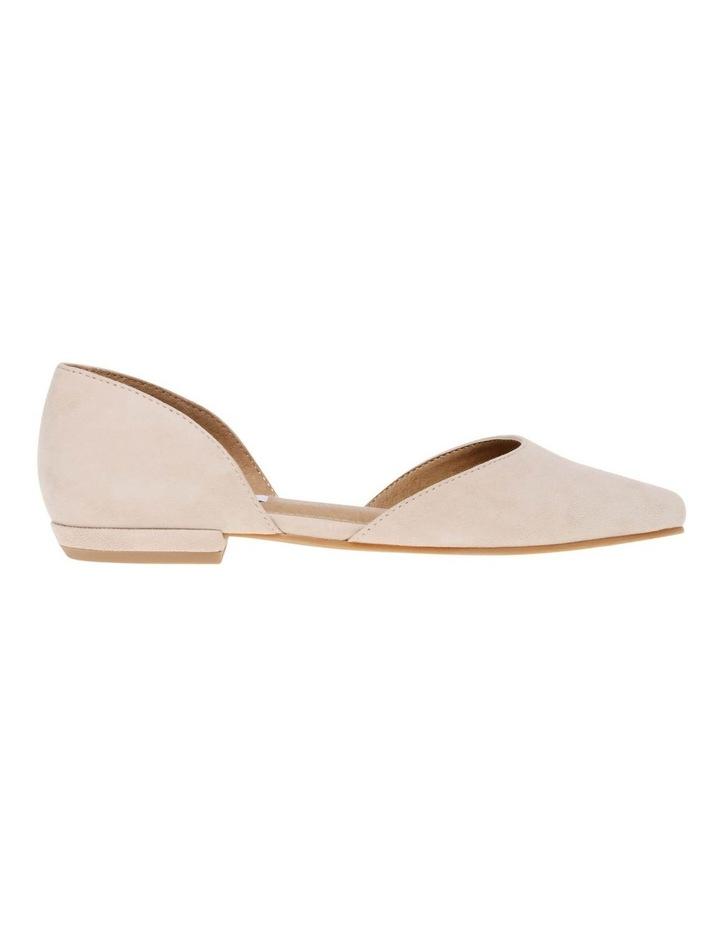 Gliss Blush Suede Flat Shoe image 1