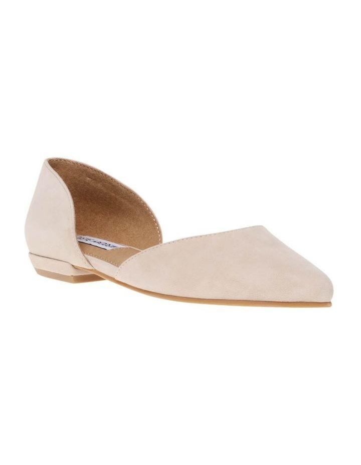 Gliss Blush Suede Flat Shoe image 2