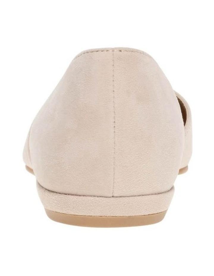 Gliss Blush Suede Flat Shoe image 4