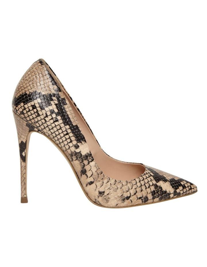 Daisie Tan Snake Heeled Shoe image 1