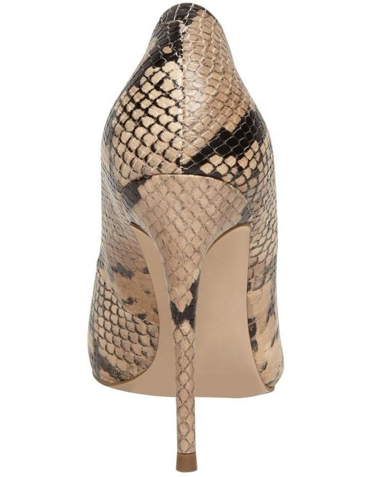 Daisie Tan Snake Heeled Shoe image 2