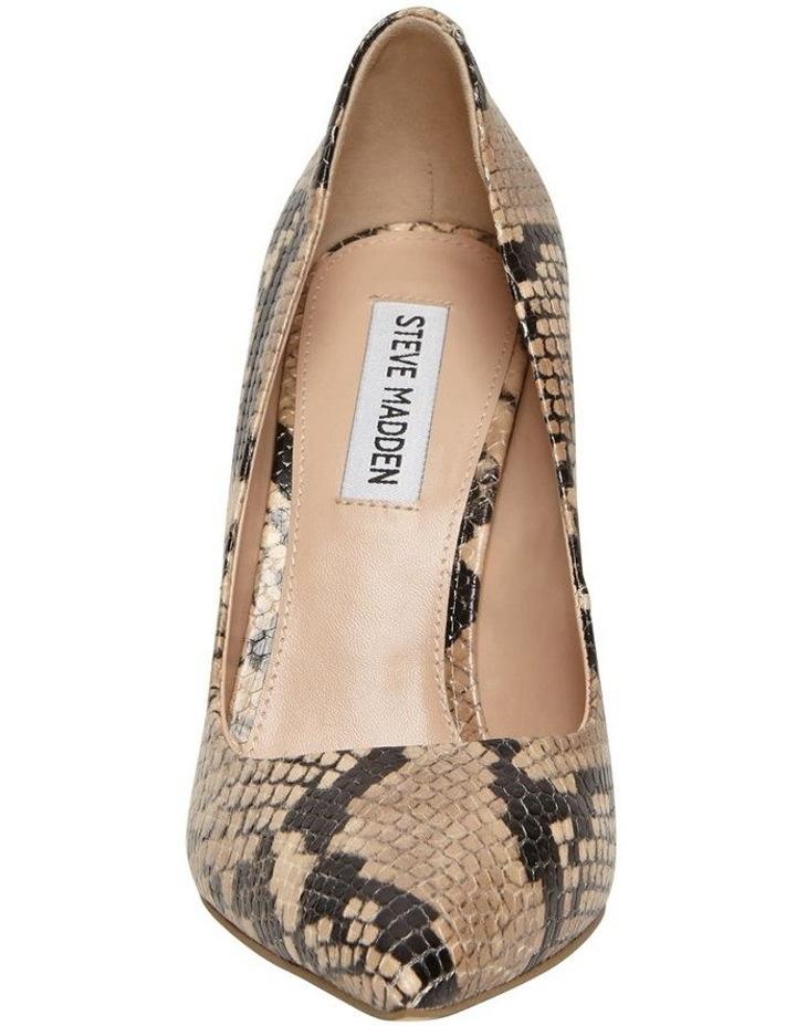 Daisie Tan Snake Heeled Shoe image 3