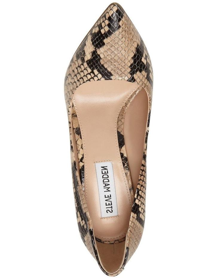 Daisie Tan Snake Heeled Shoe image 4