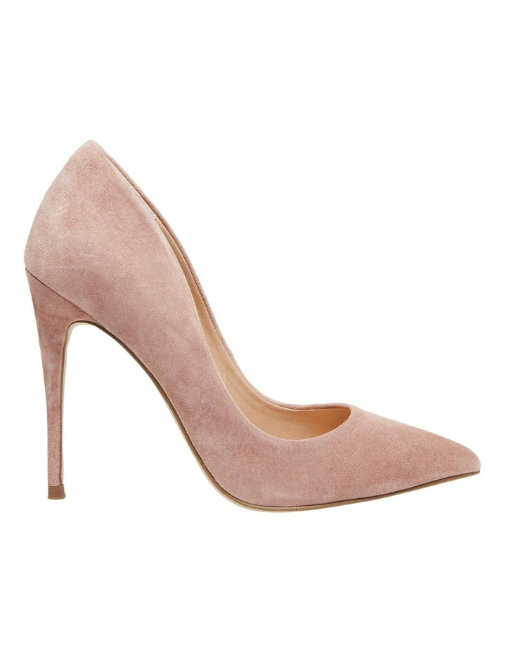 first look new cheap details for Steve Madden Daisie Tan Suede Heeled Shoe