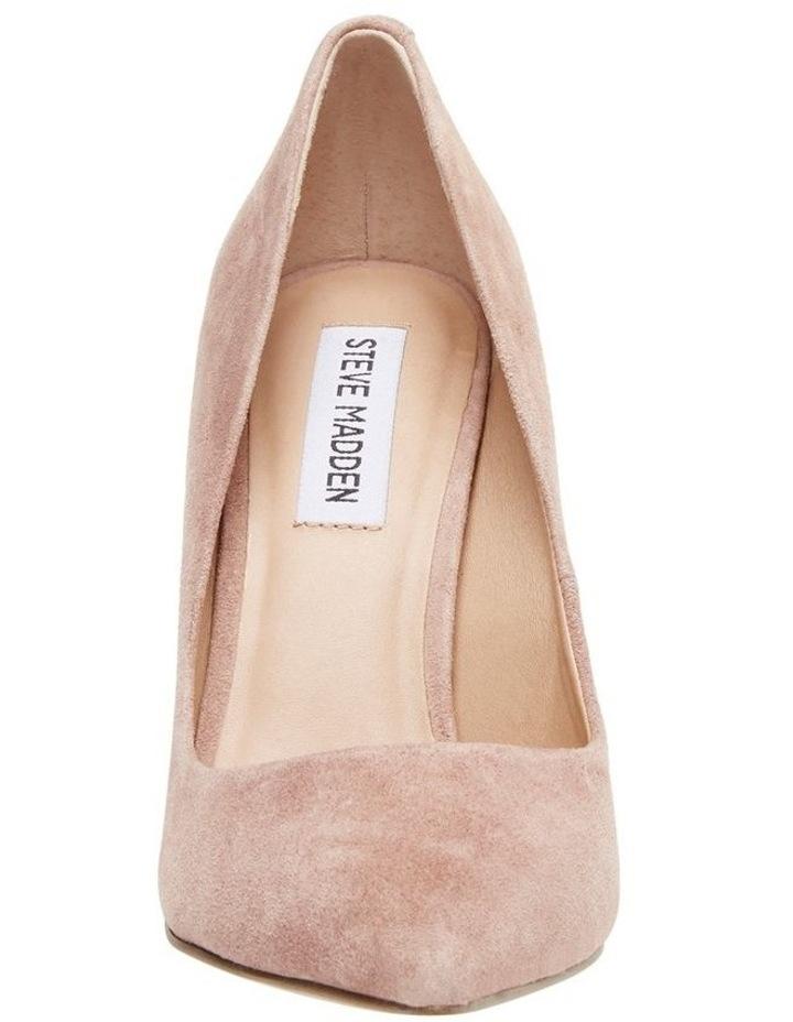 Daisie Tan Suede Heeled Shoe image 2