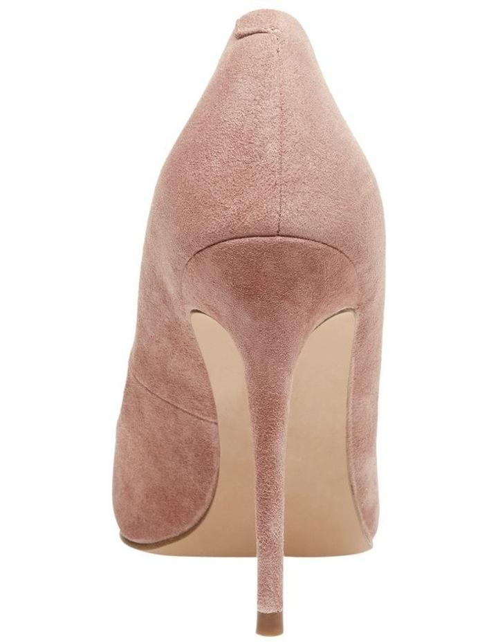 Daisie Tan Suede Heeled Shoe image 3