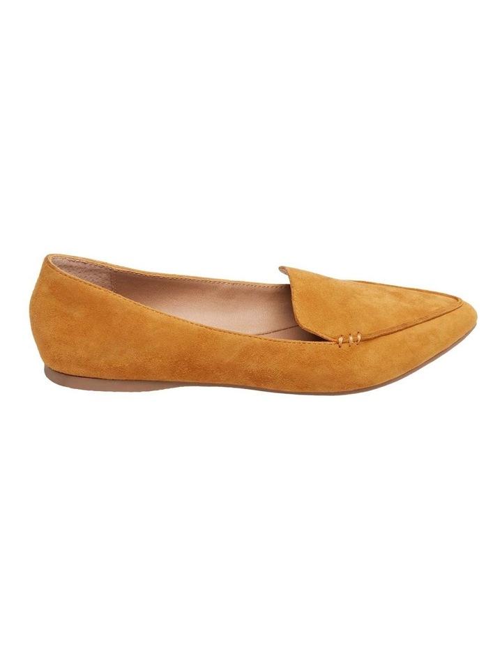 Feather Yellow Flat Shoe image 1