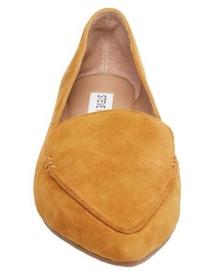 Feather Yellow Flat Shoe image 2