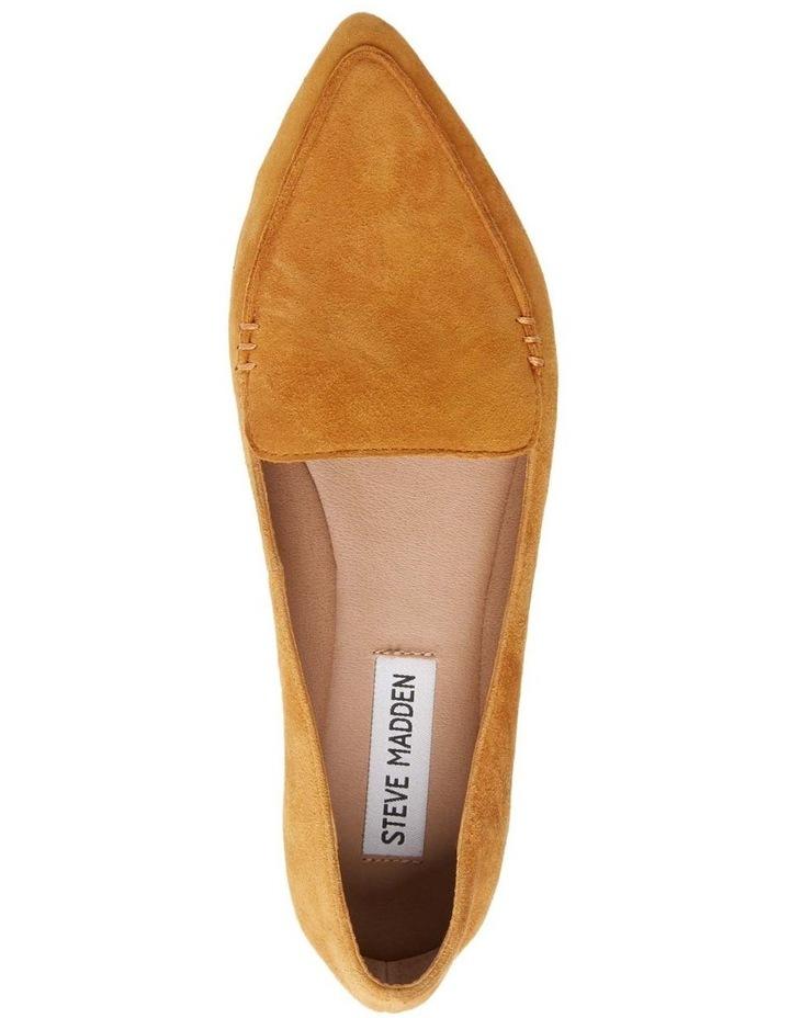 Feather Yellow Flat Shoe image 4