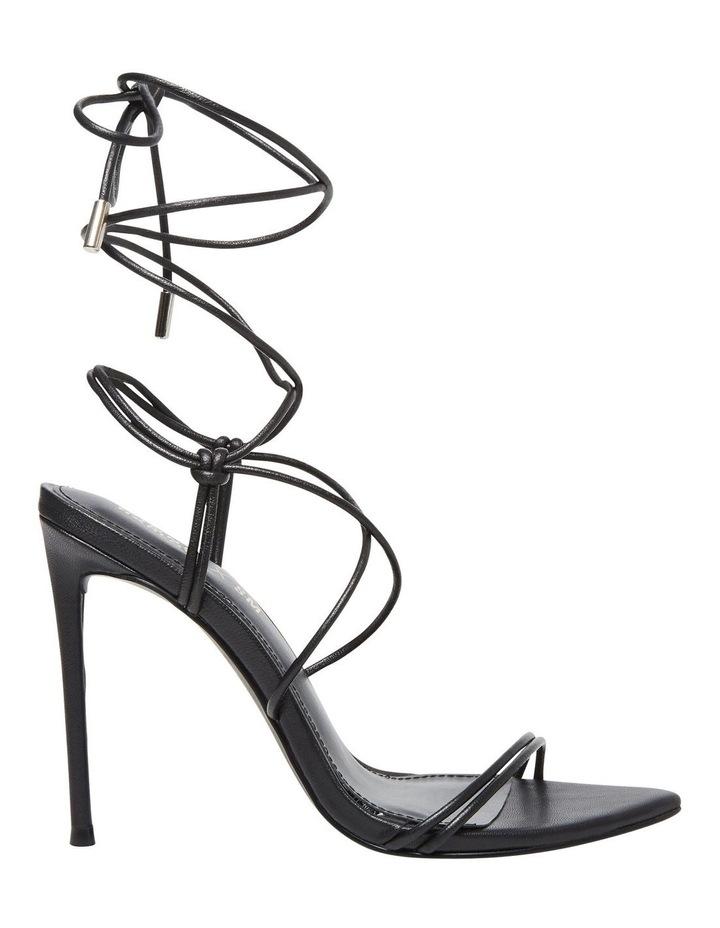 Princess Black Croco Heeled Shoe image 1
