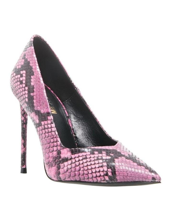 Princess Pink Snake Heeled Shoe image 4