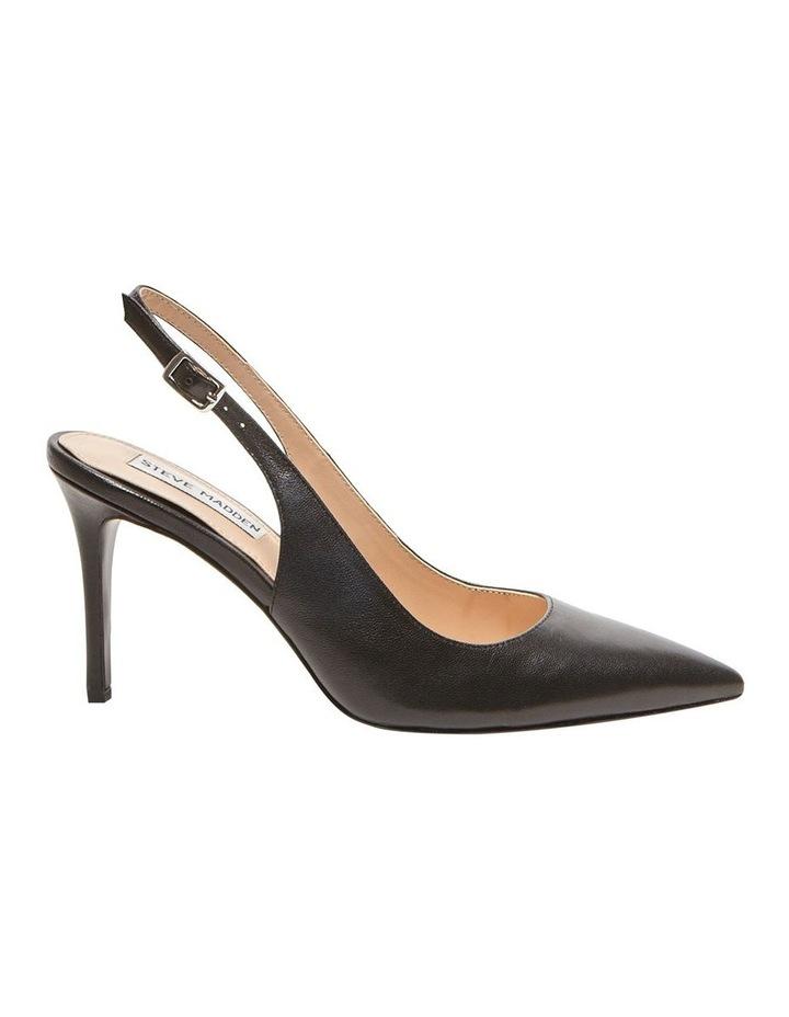 Macey Black Heeled Shoes image 1