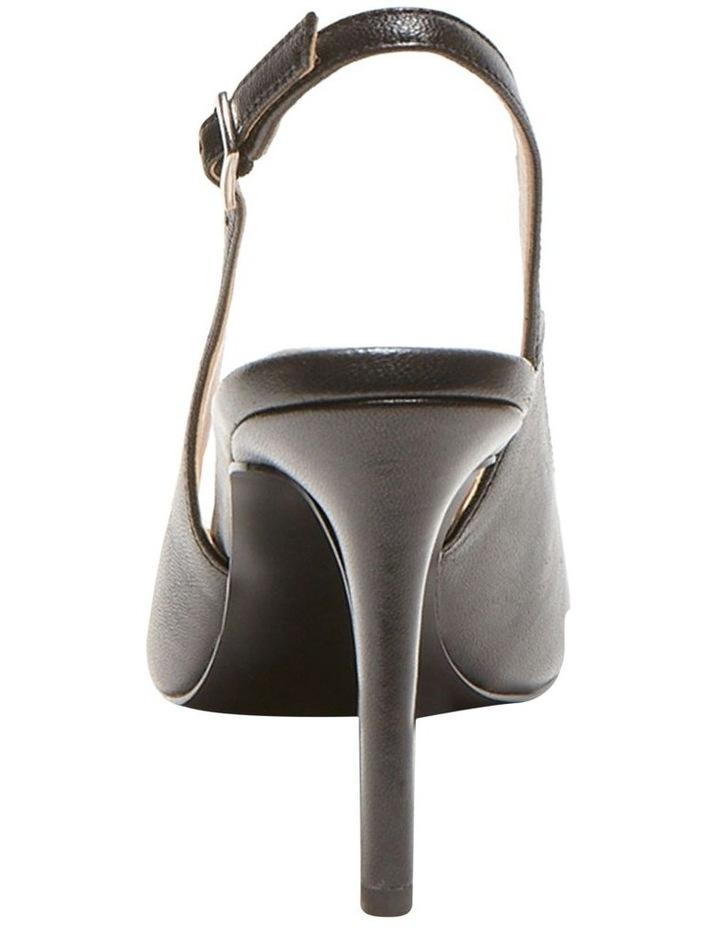 Macey Black Heeled Shoes image 3