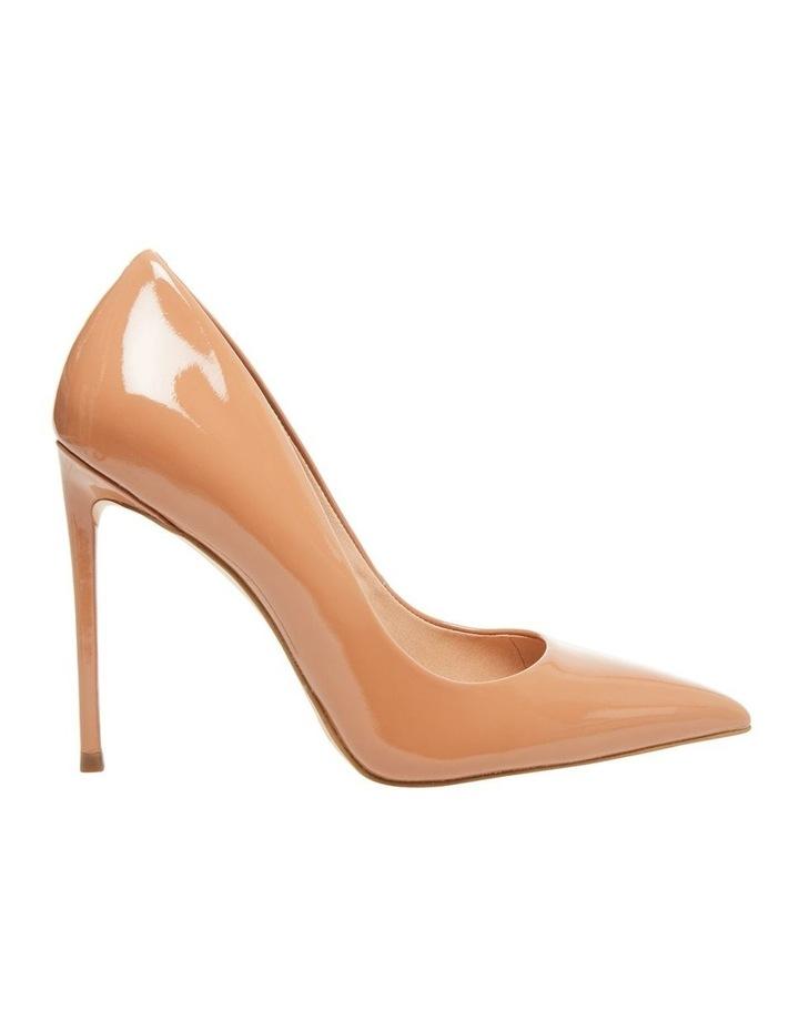 Vala Camel Patent Heeled Shoes image 2