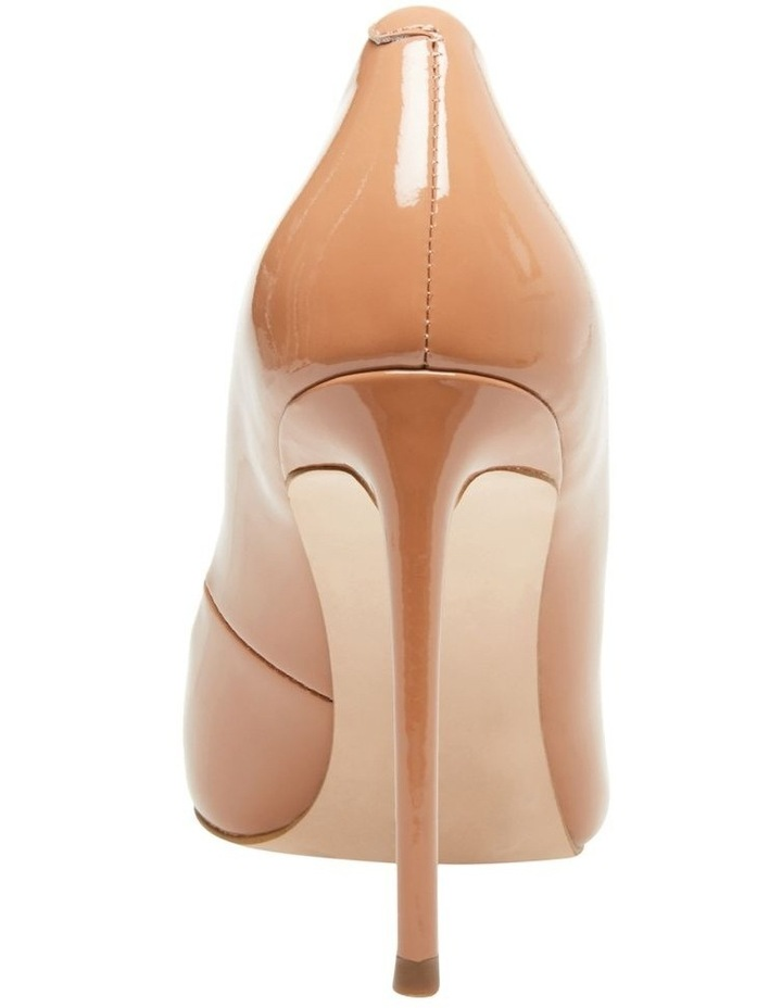 Vala Camel Patent Heeled Shoes image 4