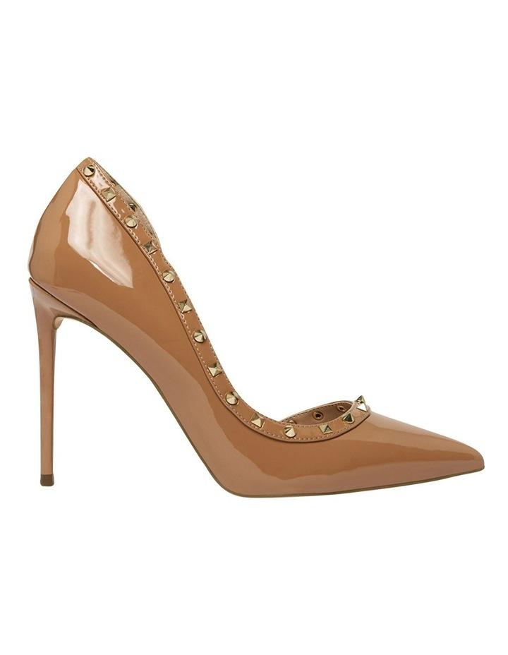 Viyana Camel Patent Heeled Shoes image 1