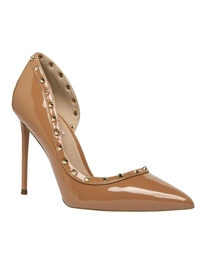 Viyana Camel Patent Heeled Shoes image 2