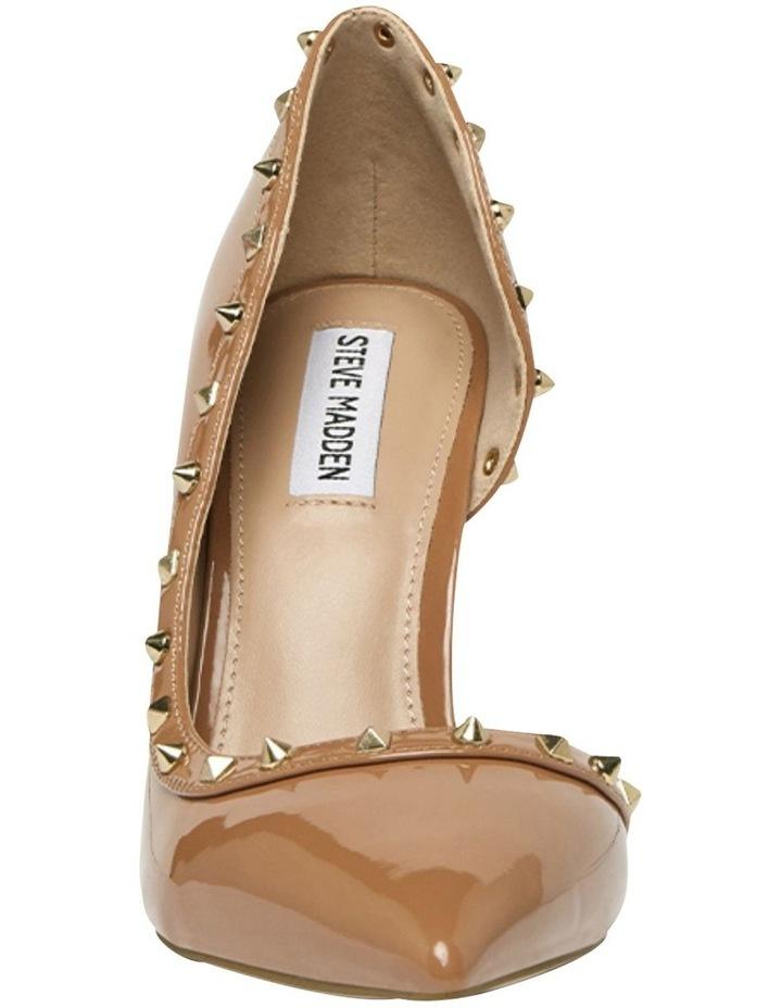 Viyana Camel Patent Heeled Shoes image 3