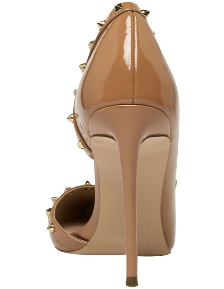 Viyana Camel Patent Heeled Shoes image 4