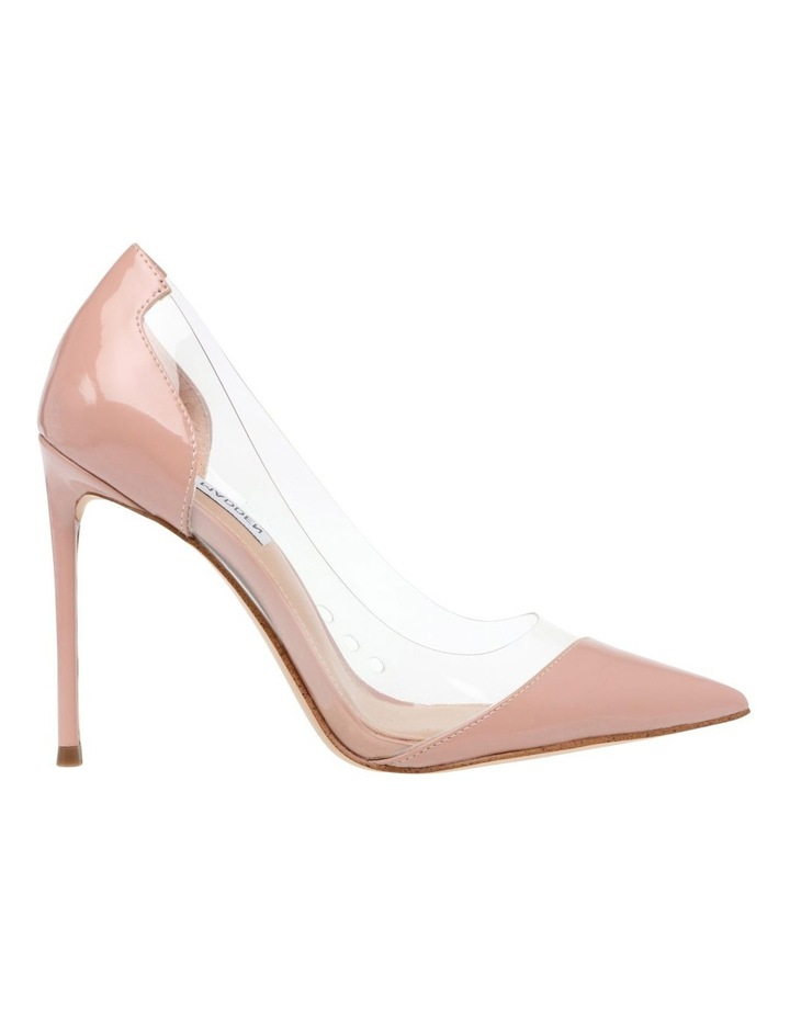 Majorie Blush Patent Heeled Shoes image 1