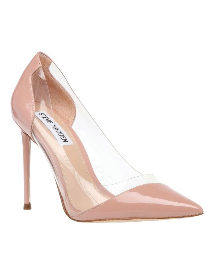 Majorie Blush Patent Heeled Shoes image 2
