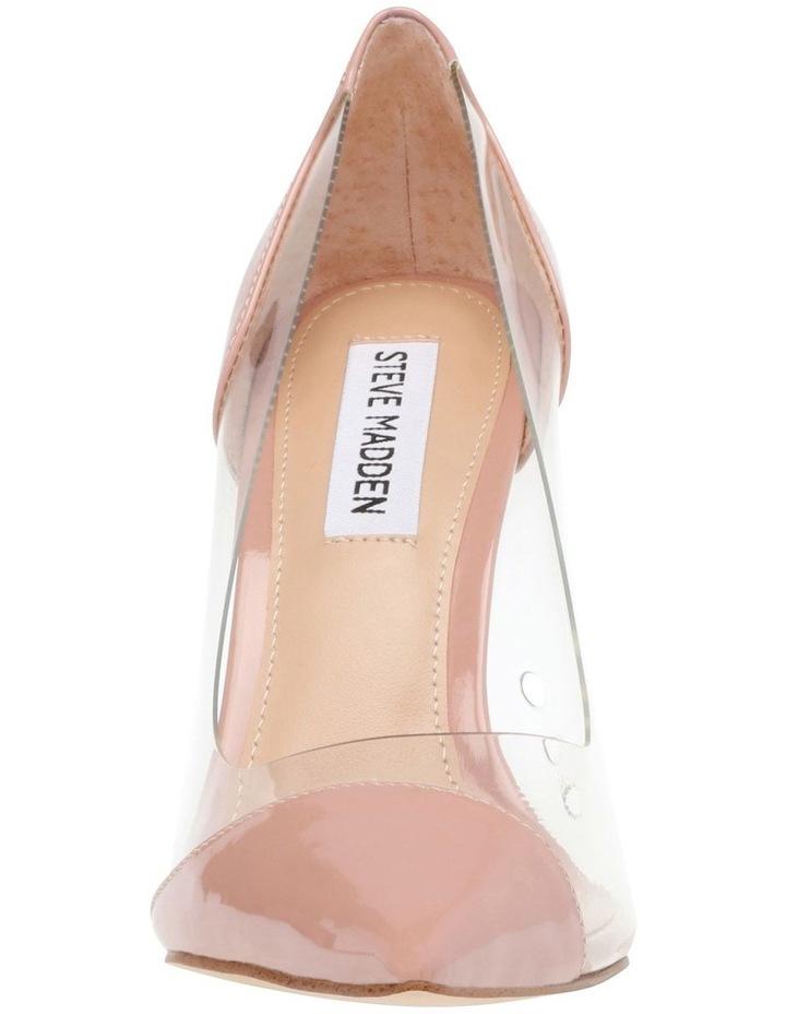 Majorie Blush Patent Heeled Shoes image 3