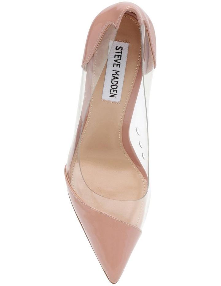 Majorie Blush Patent Heeled Shoes image 4