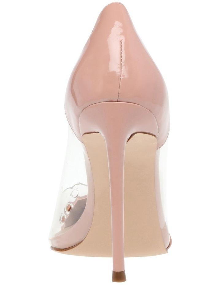 Majorie Blush Patent Heeled Shoes image 5