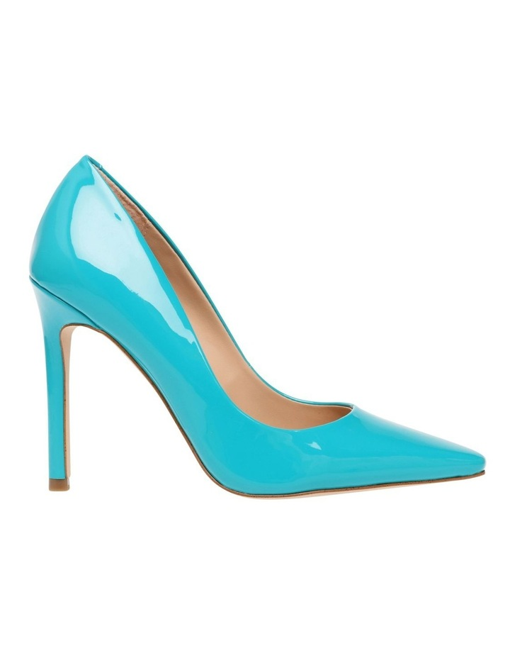 Spicy Teal Patent Pump image 1