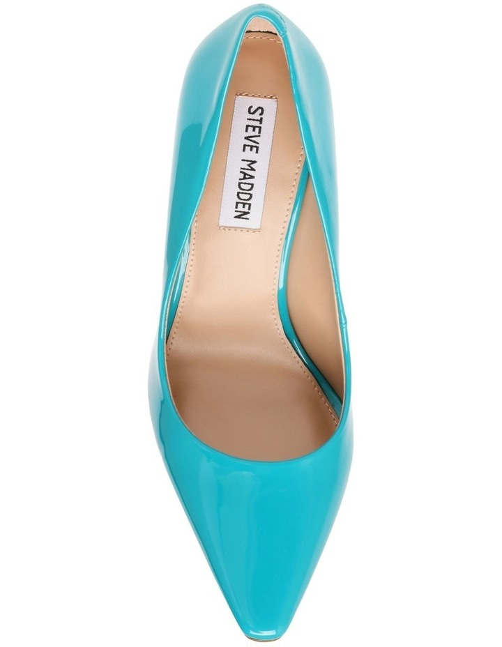 Spicy Teal Patent Pump image 2