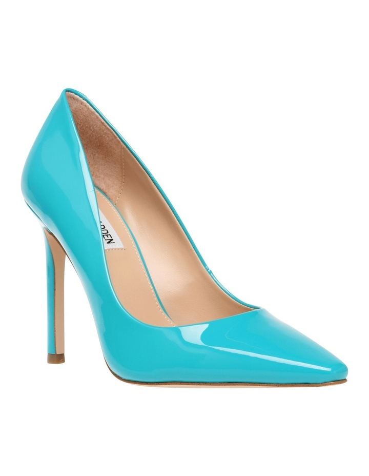 Spicy Teal Patent Pump image 3