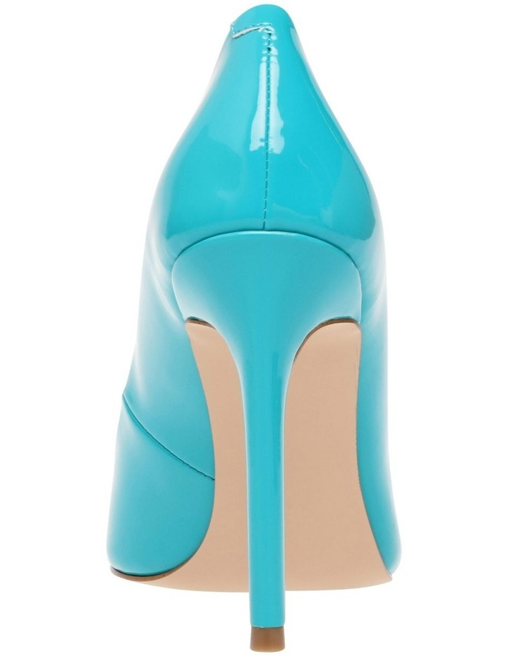 Spicy Teal Patent Pump image 4