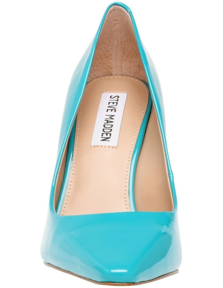 Spicy Teal Patent Pump image 5