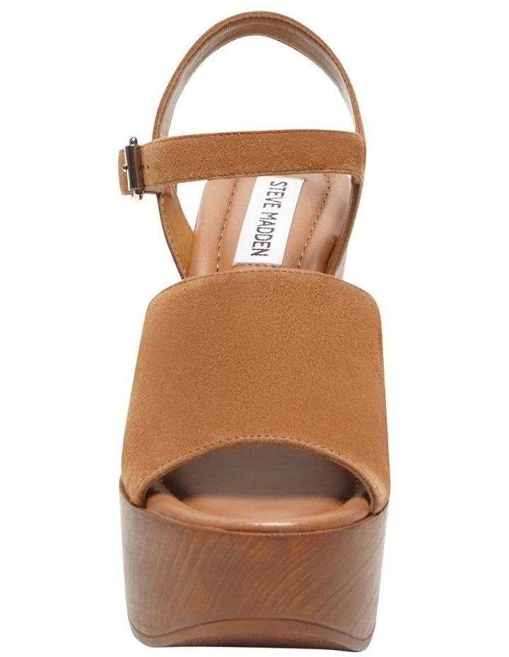 Bellini Cognac Suede Sandal image 2