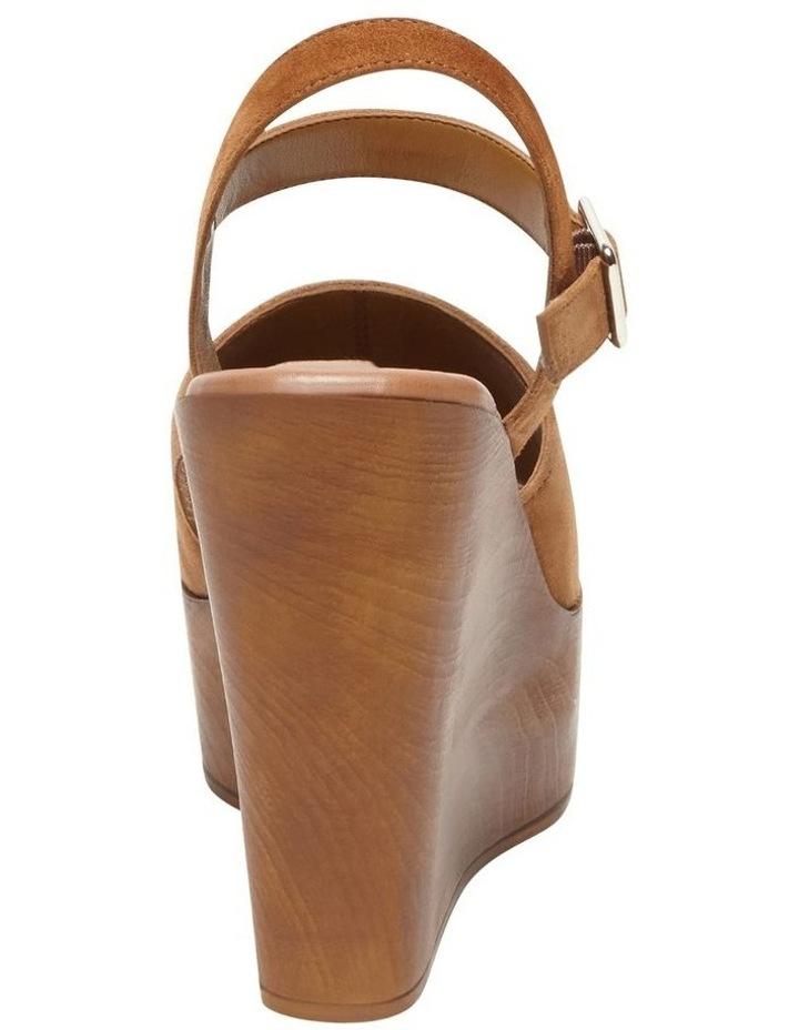 Bellini Cognac Suede Sandal image 3