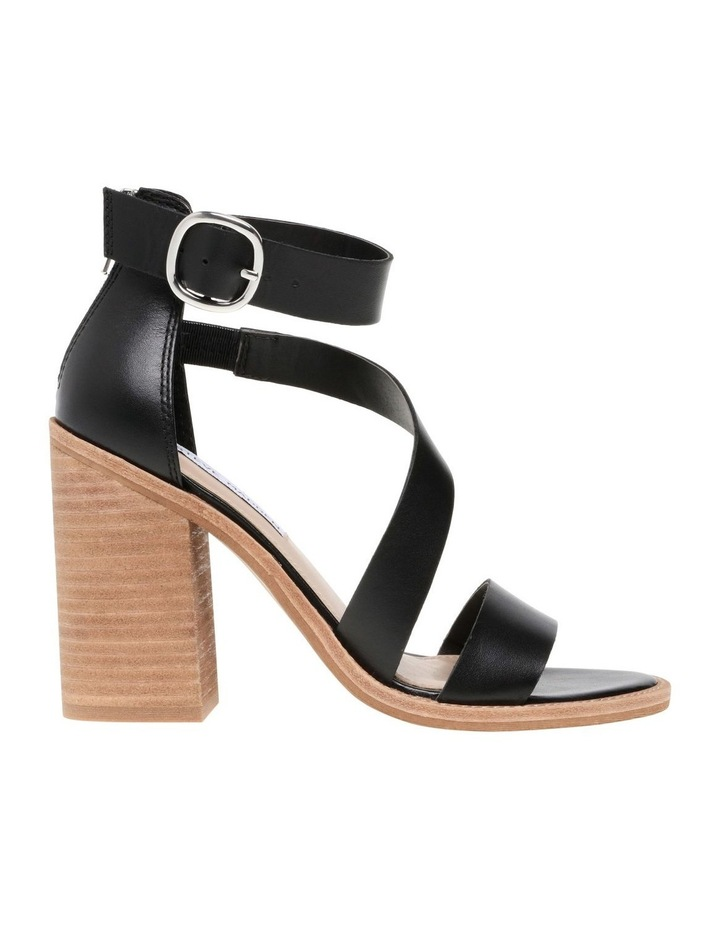 Collins Black Leather Sandal image 1