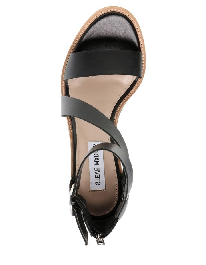 Collins Black Leather Sandal image 4