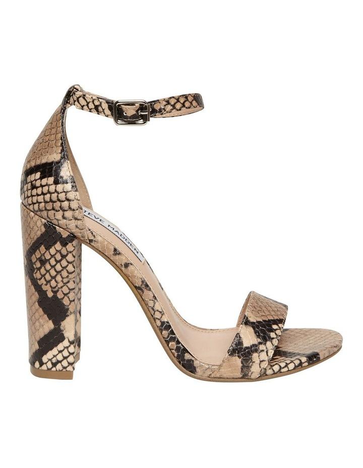 Carrson Tan Snake Sandal image 1