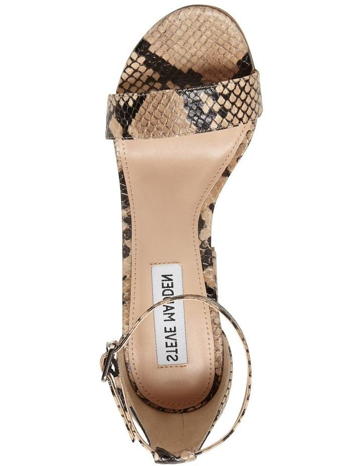 Carrson Tan Snake Sandal image 2