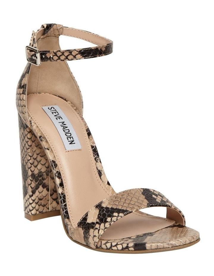 Carrson Tan Snake Sandal image 4