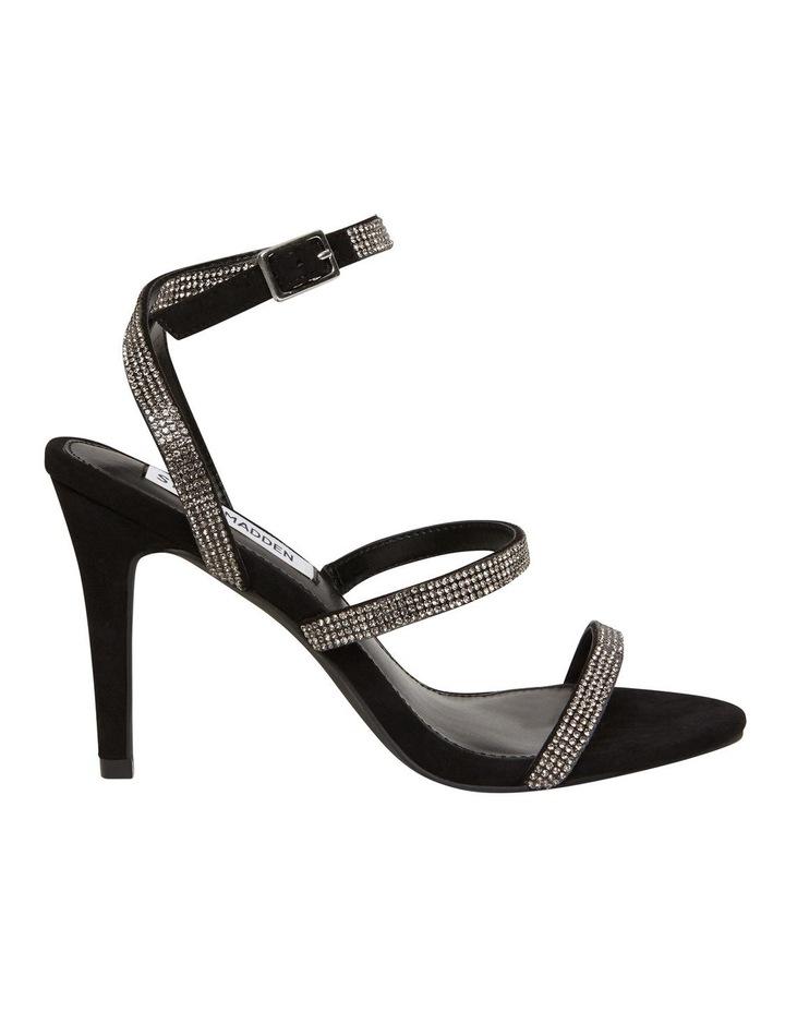 Equal Black Crystal Sandal image 1