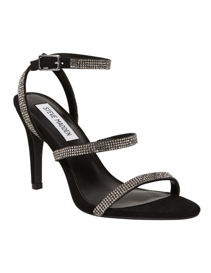Equal Black Crystal Sandal image 5