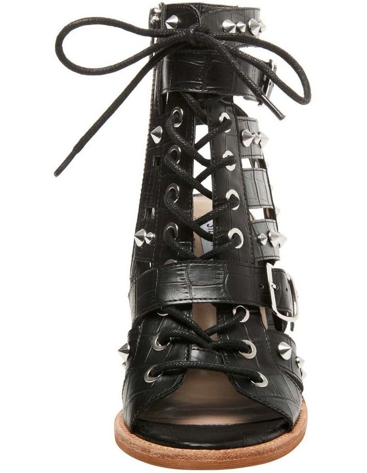 Cecilia-S Black Croco Sandal image 2